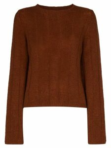 Khaite Nelley cashmere jumper - Brown