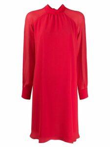 Kenzo flared long-sleeved dress