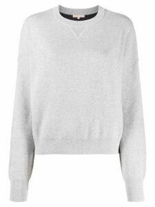 FILIPPA-K Soft Sport long-sleeve fitted sweatshirt - Grey