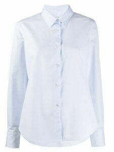 Lis Lareida long-sleeve flared shirt - Blue