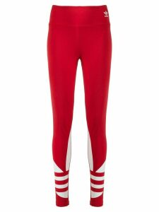 adidas Large Logo leggings - Red