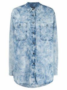 Isabel Marant Étoile Elynton shirt - Blue