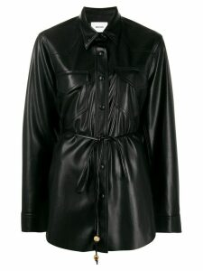 Nanushka Eddy vegan leather shirt - Black