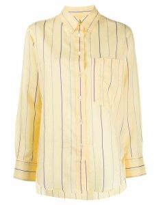 Isabel Marant Étoile striped long-sleeve shirt - Yellow