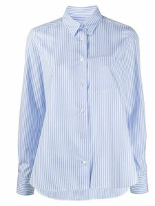 Lis Lareida long-sleeve flared shirt - Blue