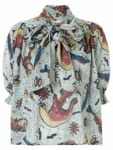 Karen Walker Mouseion shirt - Multicolour