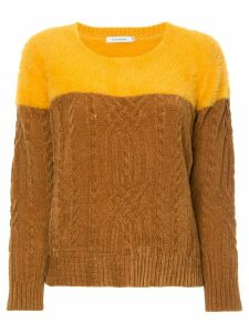 Guild Prime cable-knit sweater - Yellow