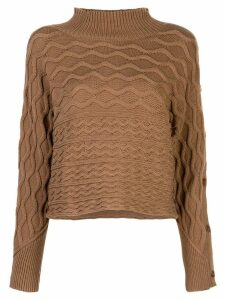 Rachel Comey Daphne ribbed knit sweater - Brown
