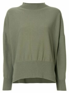 Pleats Please Issey Miyake Kanko loose-fit jumper - Green