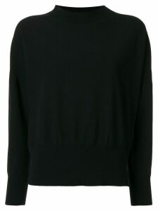 Pleats Please Issey Miyake Kanko loose-fit jumper - Black