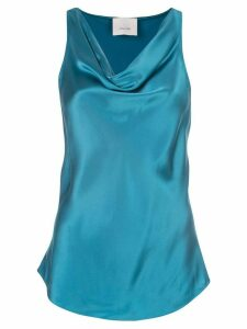 Cinq A Sept Sakura cowl neck top - Blue