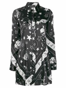 Philipp Plein Stars and Skulls shirt - Black