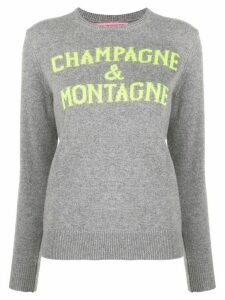 Mc2 Saint Barth 'Champagne & Montagne' crew-neck jumper - Grey