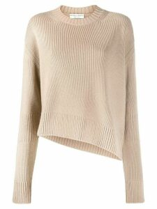 Bottega Veneta slit detail jumper - Brown