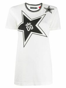 Dolce & Gabbana DG Star print T-shirt - White