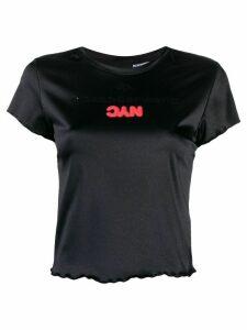 adidas Originals by Alexander Wang logo T-shirt - Black