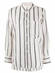 Isabel Marant Étoile striped long-sleeve shirt - PINK