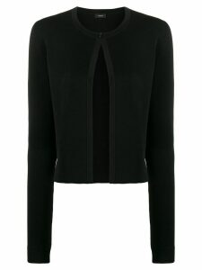 Joseph single button cardigan - Black
