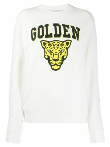 Golden Goose Golden printed sweatshirt - White