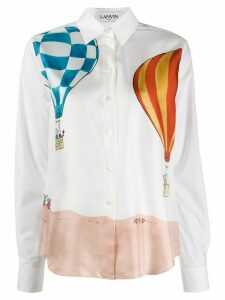 LANVIN Babar watercolour shirt - White