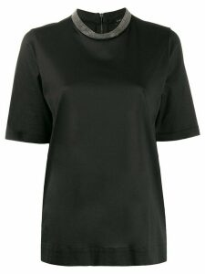 Fabiana Filippi regular fit T-shirt - Black