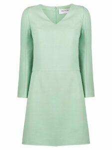 Valentino v-neck shift short dress - Green