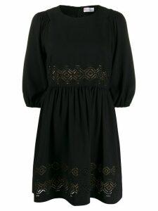 RedValentino cut-out detail dress - Black