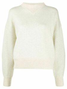 Isabel Marant Étoile oversized knit jumper - NEUTRALS