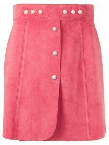 Prada stud-embellished short skirt - PINK