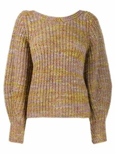 Ba & Sh Haili back button jumper - Yellow
