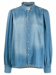 Ba & Sh Axelle denim shirt - Blue