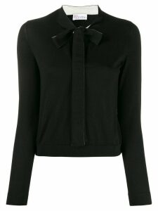Red Valentino pussy bow jumper - Black