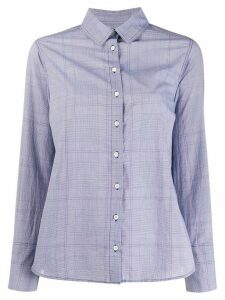 Ba & Sh Mael checked shirt - Blue