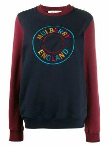 Mulberry Betsy logo sweatshirt - Blue