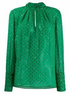 Ba & Sh Cabri printed blouse - Green
