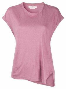 Isabel Marant Étoile asymmetric hem T-shirt - PINK