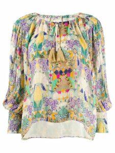 Chufy Inka tasseled blouse - Yellow