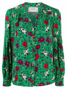 Ba & Sh Palerme floral blouse - Green