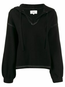 Ba & Sh drawstring Jane hoodie - Black