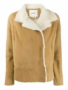 Ba & Sh Serena shearling jacket - NEUTRALS