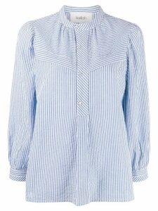 Ba & Sh Silla striped blouse - Blue