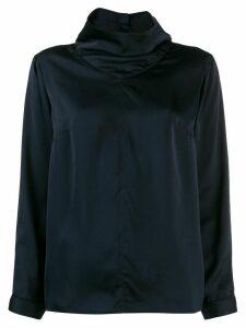 Ba & Sh Cody high neck blouse - Blue