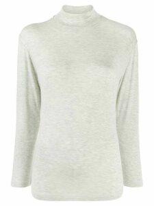Ba & Sh Soir knitted top - Grey
