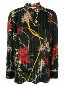 Ba & Sh Paulin floral blouse - Black