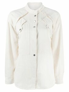 Ba & Sh Tyle layered blouse - White