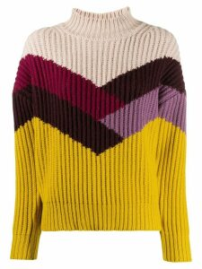 Ba & Sh Orlando colour block jumper - Yellow