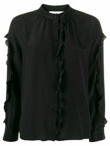 Ba & Sh ruffle trim blouse - Black