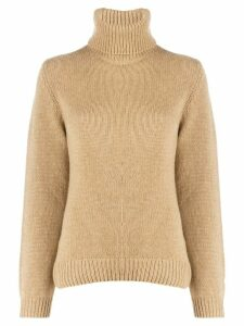 Ba & Sh Lace cashmere jumper - Brown