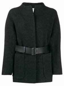 Ba & Sh Cliff belted coat - Grey