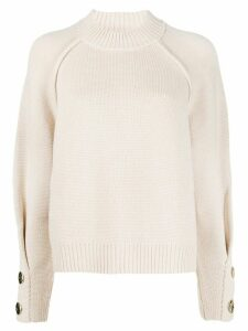 Ba & Sh knitted jumper - NEUTRALS